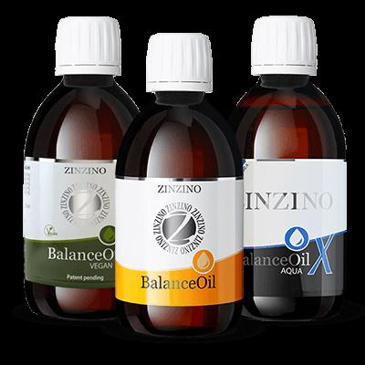 Zinzino BalanceOil, BalanceOil Vegan, BalanceOil AquaX
