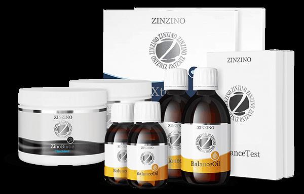 ZINZINO zdravotný protokol - Špeciálne balenia produktov