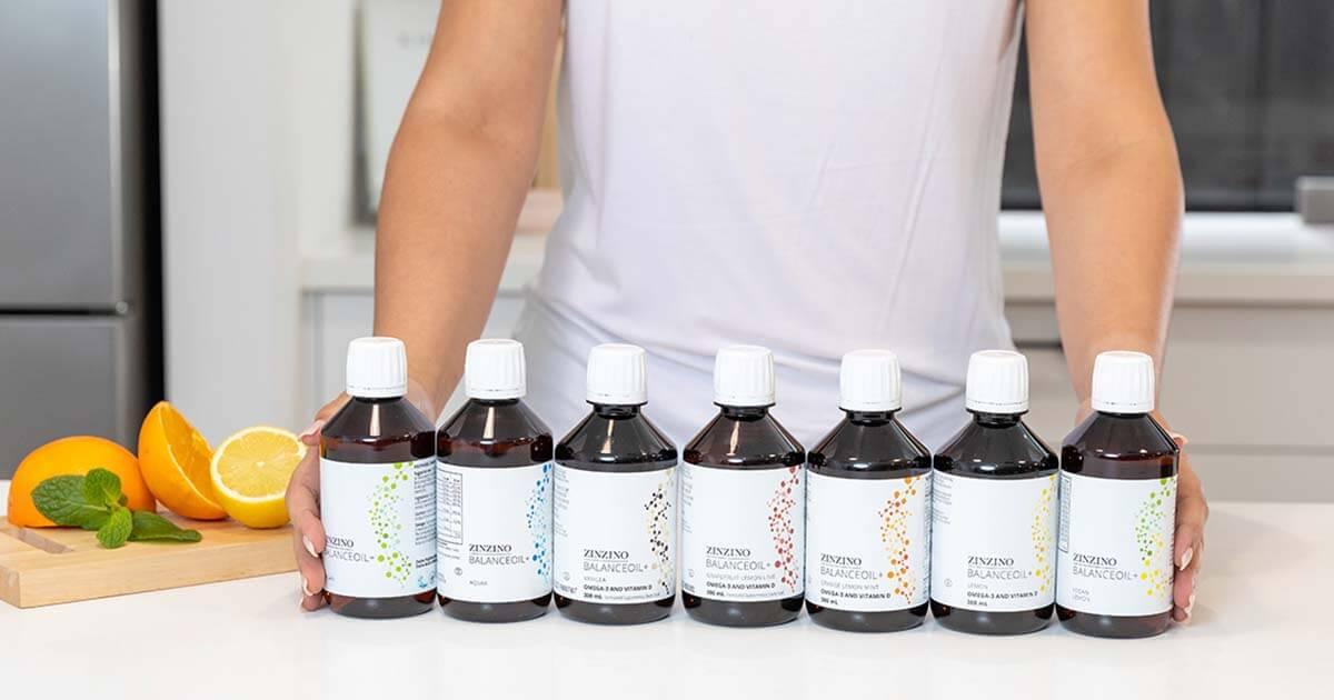 Doplnok Omega-3 mastných kyselín: Zinzino Balance Oleje